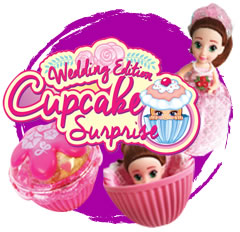 Cup Cake Surprise Νύφες