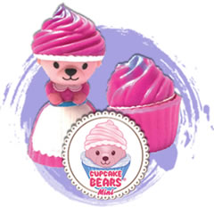 Cup Cake Bear Mini