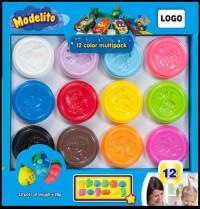 Modelito Nέα Μικρά Βαζάκια 28gr. 12 Χρώματα & 12 Αξεσουάρ