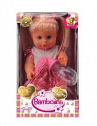 Bambolina Amore κούκλα πιπι ποπο, με μαλλιά